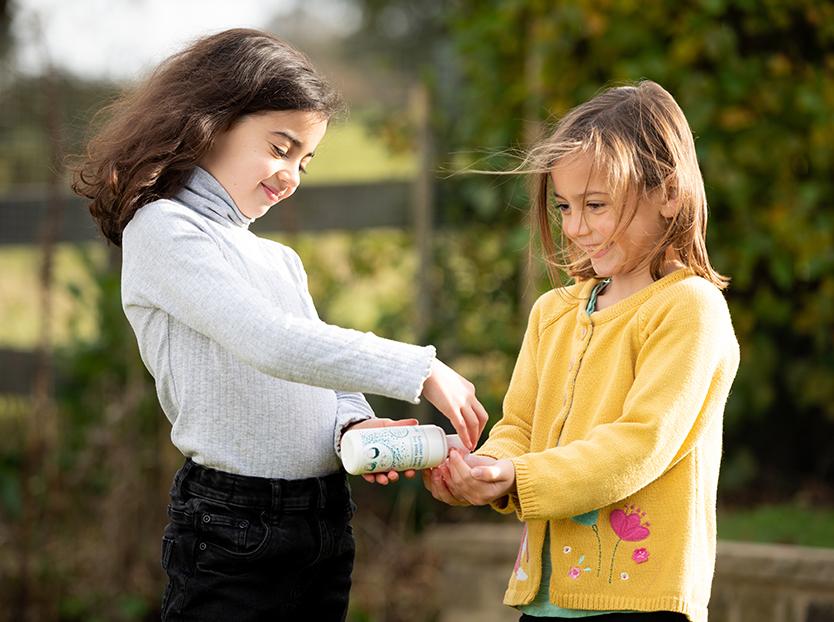 kids safe alchohol free hand sanitiser
