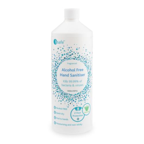 Alcohol Free Hand Sanitiser Refill Bottle