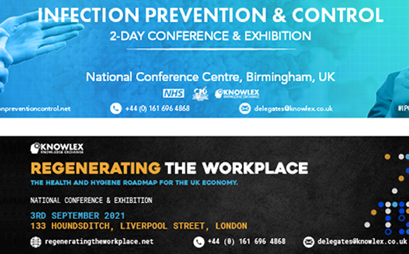 bsafe chosen as hand sanitiser provider for two leading infection prevention conferences this Autumn